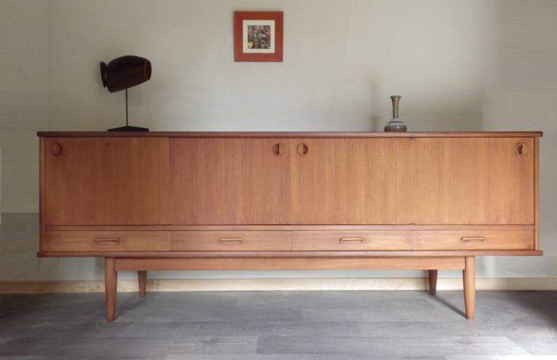 Restaurer meuble teck scandinave